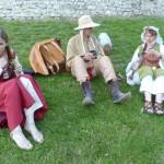 """Pause """"Hypocras"""" - Julie, Manu et Joëlle - Fête médiévale de Provins 2012"""