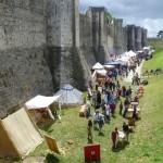 Les remparts de Provins - Fête médiévale de Provins 2011