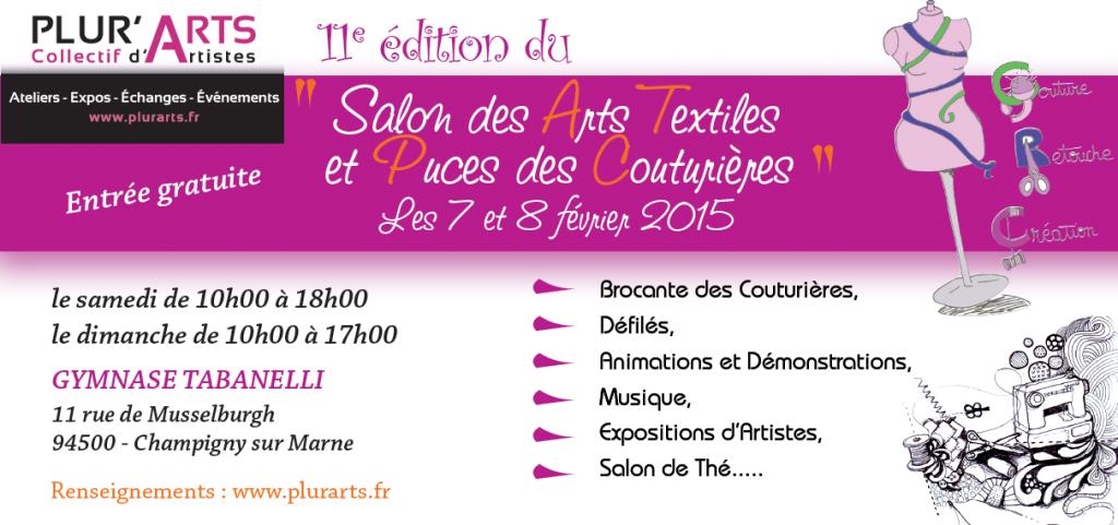 flyer Puces des Couturières 2015