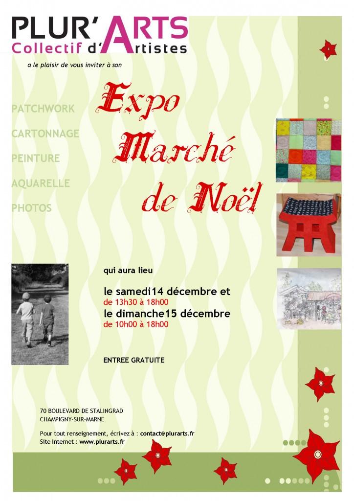 Marché de Noel 2013 flyer A4