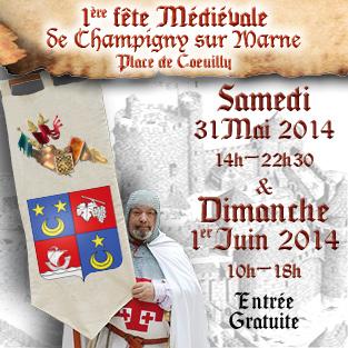 Fête Médiévale de Champigny(94) 2014