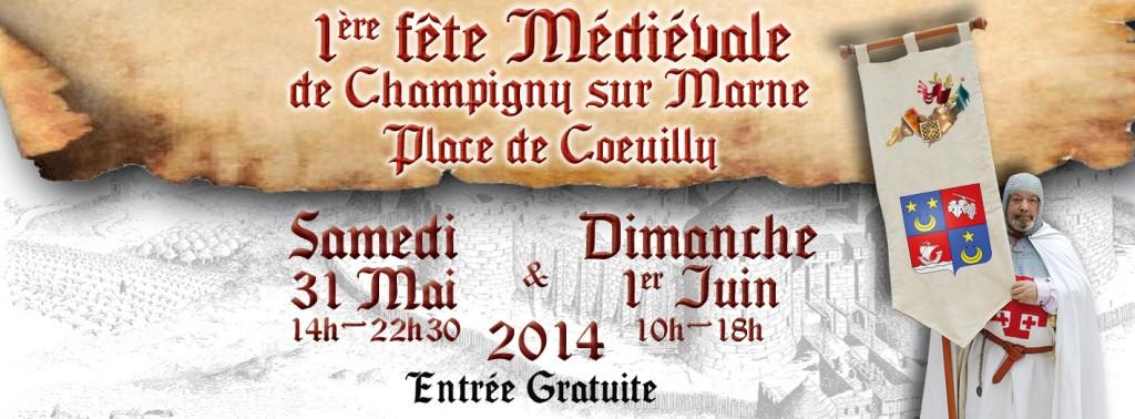 Fête Médiévale de Champigny - 2014