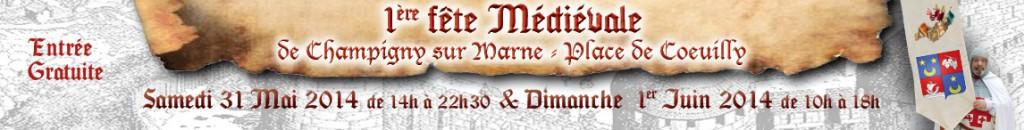 Fête Médéiévale de Champigny(94) 2014