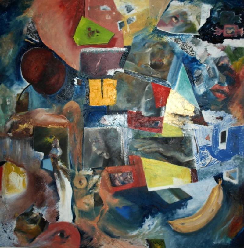 Peinture – Tableau 4 – Eric Lecerf