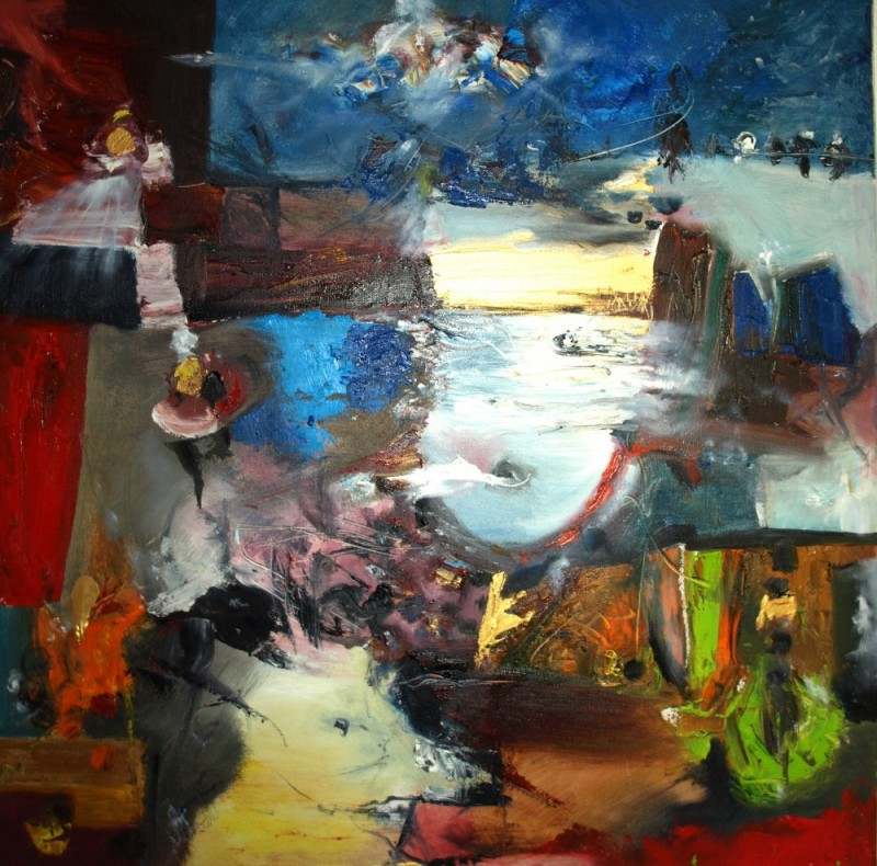 Peinture – Tableau 5 – Eric Lecerf