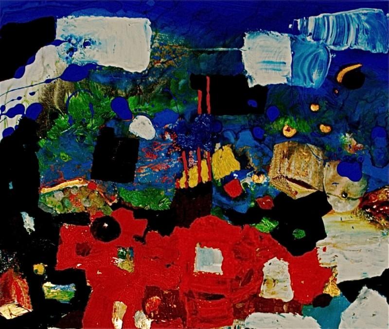 Peinture – Tableau 6 – Eric Lecerf