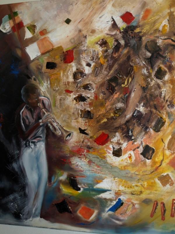 Peinture – Tableau 8 – Eric Lecerf
