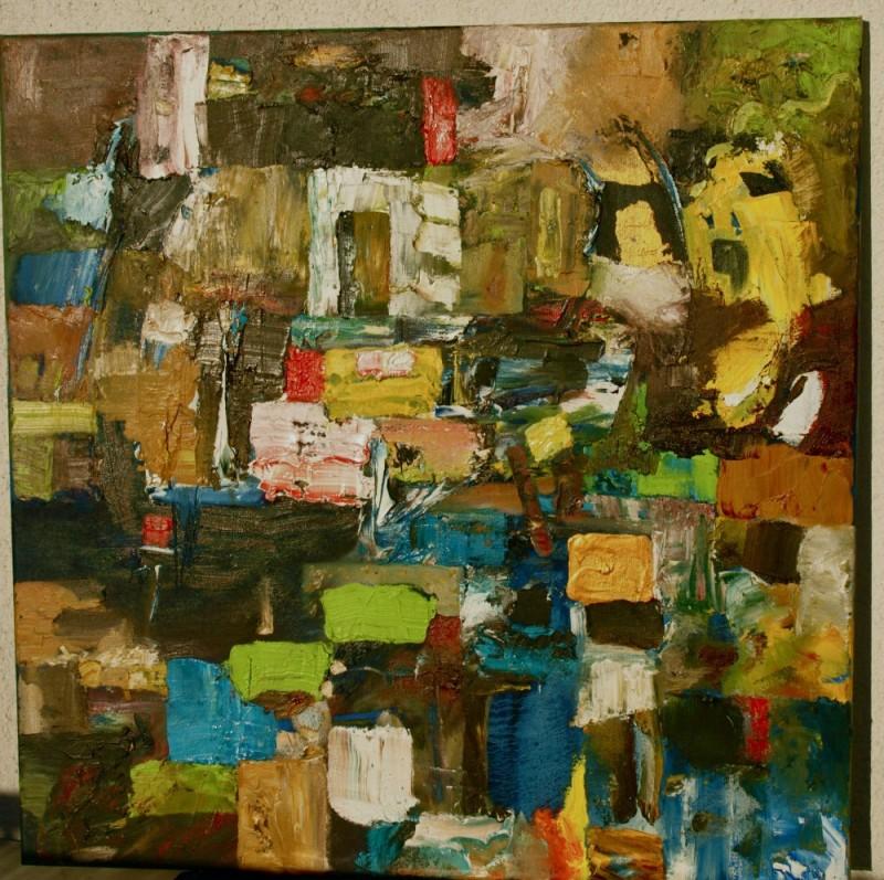 Peinture – Tableau 7 – Eric Lecerf