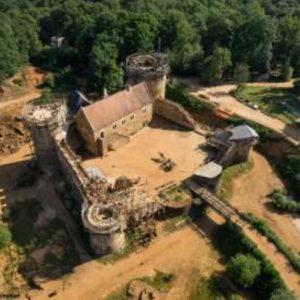 Visite du chateau de Guedelon @ Guedelon